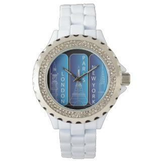 """Reloj Diamante """"mirada"""" señoras de Nueva York, Londres,"""