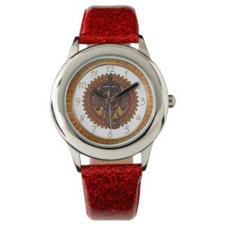Reloj Diseño adorable 5 del metallizer del elefante de