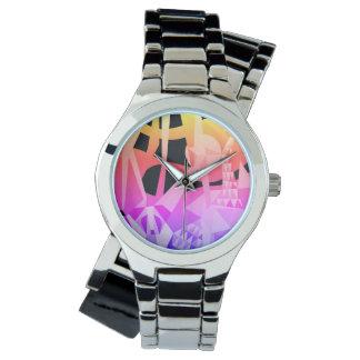 Reloj Diseño popular de la NUEVA alegría de la selva de