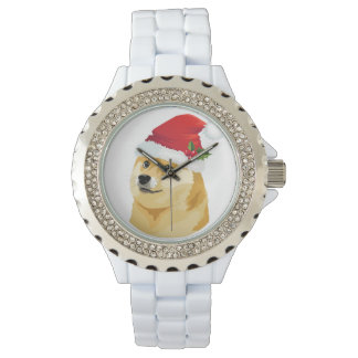 Reloj Dux del navidad - dux de santa - perro del navidad