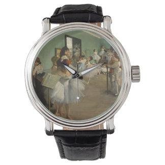 Reloj Edgar Desgasifica- la clase de danza 1874