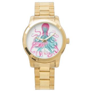 Reloj Ejemplo del pulpo - vintage - kraken