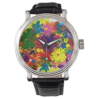 Reloj El caramelo riega al artista del autismo