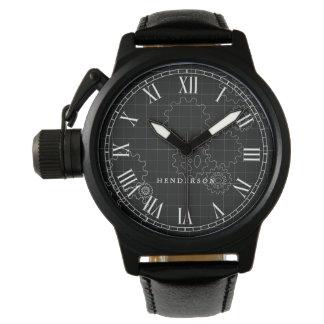 Reloj El ingeniero adapta negro conocido de encargo