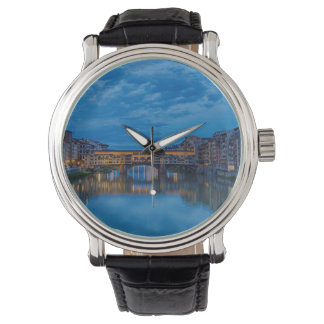 Reloj El Ponte Vecchio en Florencia