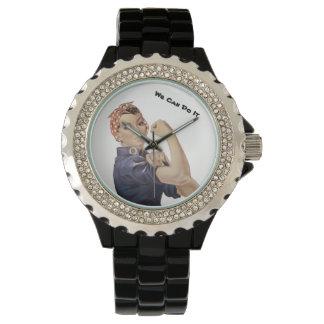 Reloj El remachador WW2 de Rosie podemos hacerlo