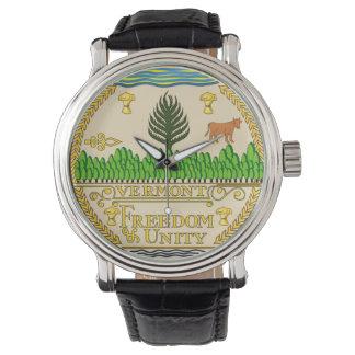 Reloj El símbolo de la república de América del sello