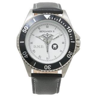 Reloj elegante conocido de encargo de la