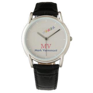reloj elegante fresco de los hombres del aero-