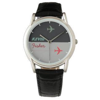 reloj elegante fresco de los hombres del estilo