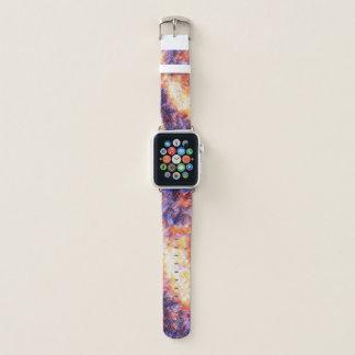reloj en colores pastel psicodélico de la banda de