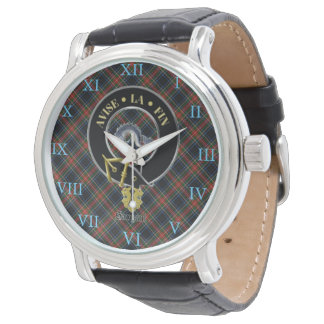 Reloj escocés del escudo de armas de Sargent