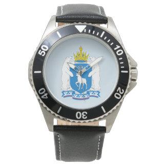 Reloj Escudo de armas de Yamal-Nenetsia
