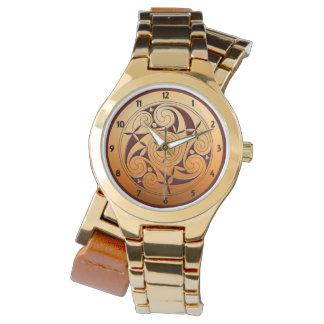 Reloj Espiral céltico