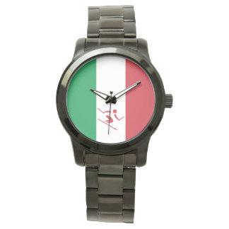 Reloj Esquí alpino Italia del equipo