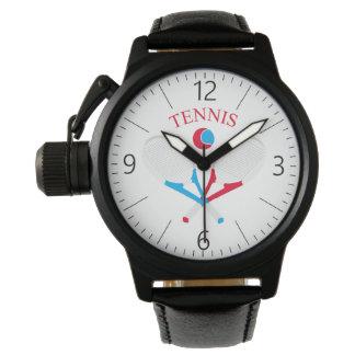 Reloj Estafas de tenis y pelota de tenis