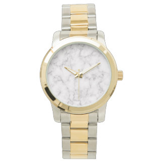 Reloj Estilo de mármol elegante