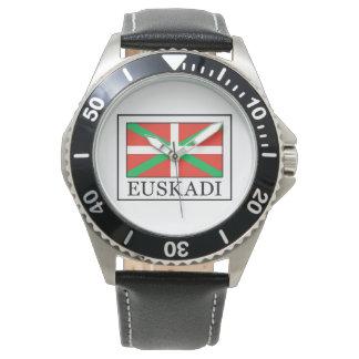 Reloj Euskadi