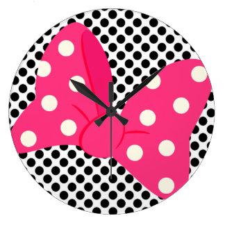 Reloj femenino del arte pop