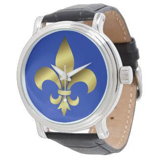 Reloj flor de lis