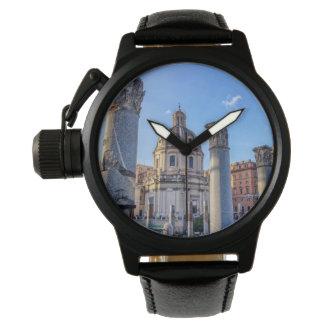 Reloj Foro Romanum, Roma, Italia