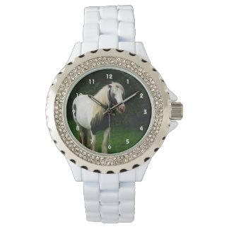 Reloj Foto gitana del caballo