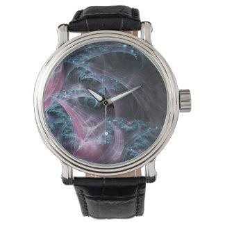 Reloj Fractal oscuro
