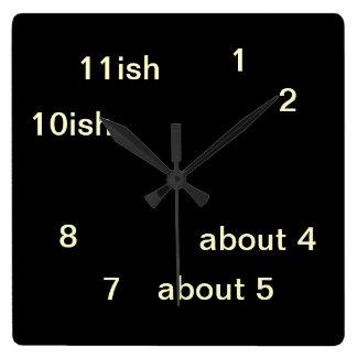 Reloj fresco 3 de One-ish del negro del