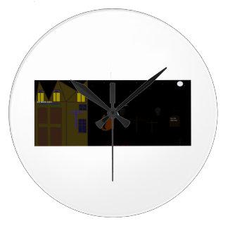 reloj fresco de Halloween