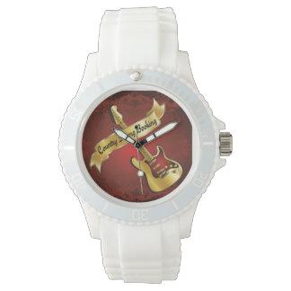 Reloj fuerte de la reservación del país