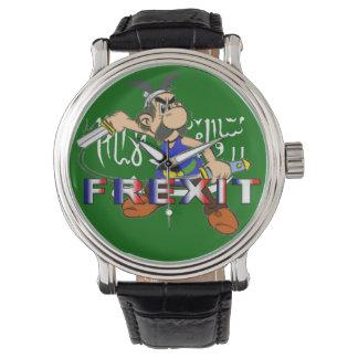Reloj galo frexit