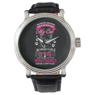 Reloj Gato loco