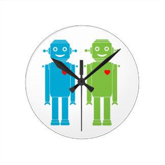 Reloj gay de los robots de LGBT