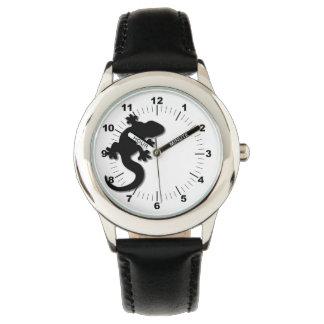 Reloj Gecko negro
