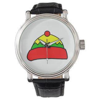 Reloj Gorra del invierno