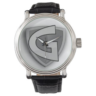 Reloj gris del hombre