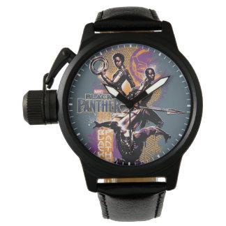 Reloj Guerreros de la pantera negra el | Wakandan