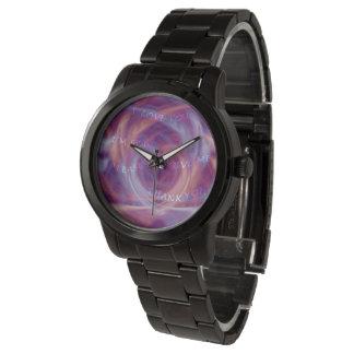Reloj Humo de la púrpura de Ho'oponopono