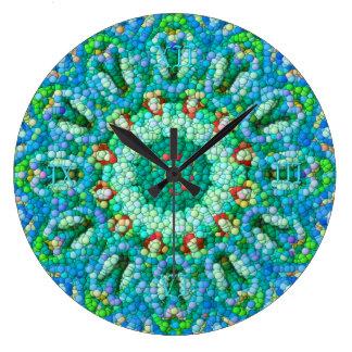 Reloj I del Burbuja-Mosaico