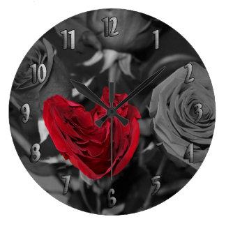 Reloj imperfecto perfecto con números