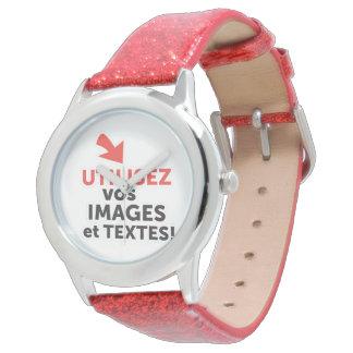 Reloj Imprimir sus diseños en línea DIY en Francés