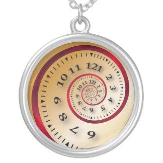 Reloj infinito colgante redondo