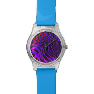 Reloj innumerable abstracto moderno