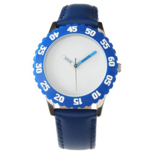 Custom Bisel con números en azul