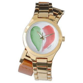 Reloj italiano del amor