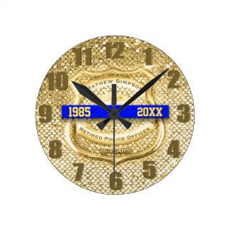 Reloj jubilado del premio de la aplicación de ley