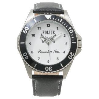 Reloj La policía tatúa