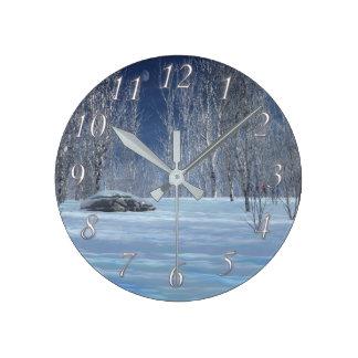 Reloj ligero silencioso