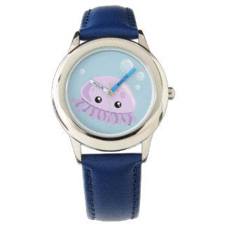 Reloj lindo de las medusas