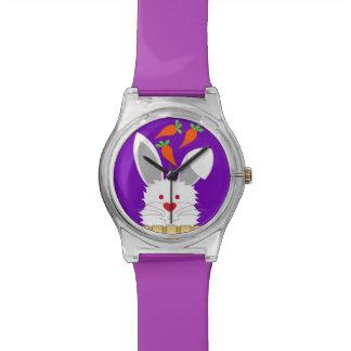 Reloj lindo del conejo